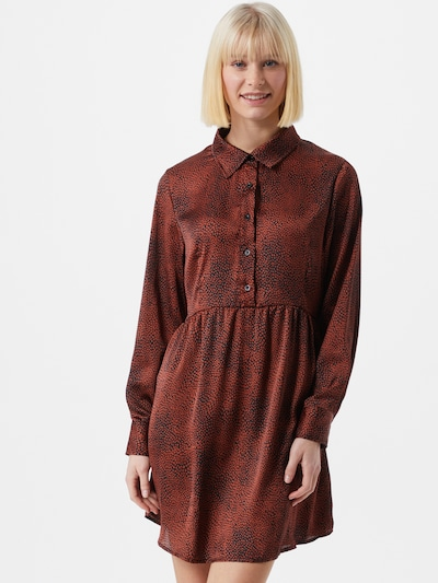 ZABAIONE Kleid 'Josi' in bronze / schwarz, Modelansicht