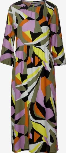 STREET ONE Kleid in gelb / lila, Produktansicht