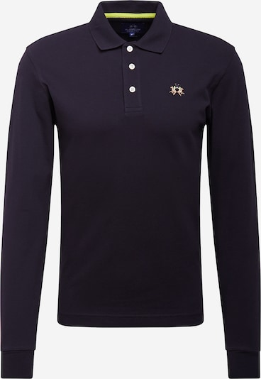 La Martina T-Krekls, krāsa - melns, Preces skats