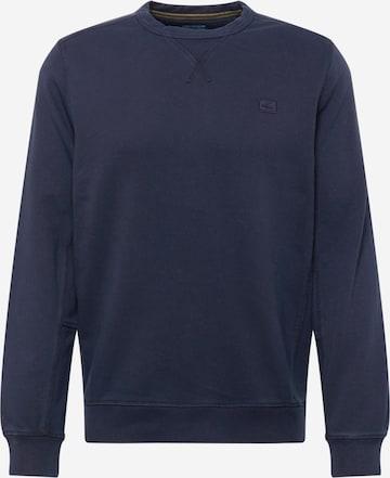 CAMEL ACTIVE Sweatshirt i blå