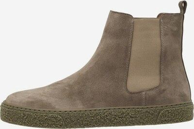 Bianco Chelsea boots in de kleur Taupe, Productweergave