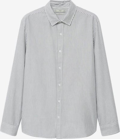 MANGO MAN Hemd 'Kodak' in grau / weiß, Produktansicht