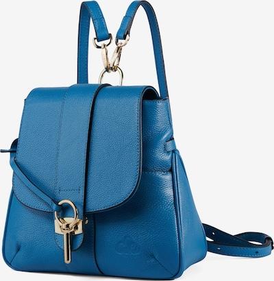C'iel Cityrucksack in blau, Produktansicht