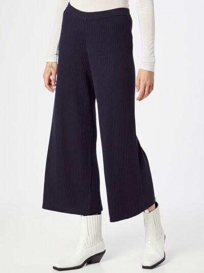 SKFK Pantalon en bleu foncé, Vue avec modèle