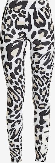 FILA Leggings 'FLEX AOP' in schwarz / weiß, Produktansicht