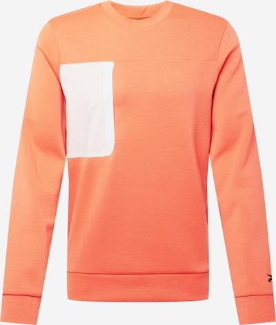 REEBOK Urheilullinen collegepaita värissä kerma / oranssi, Tuotenäkymä