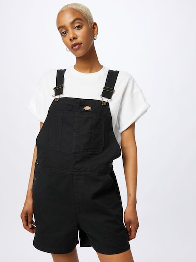 DICKIES Dungaree jeans in Black, View model