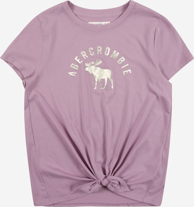 Abercrombie & Fitch Shirt in lila / silber, Produktansicht