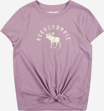 Abercrombie & Fitch T-Krekls lillā / Sudrabs, Preces skats