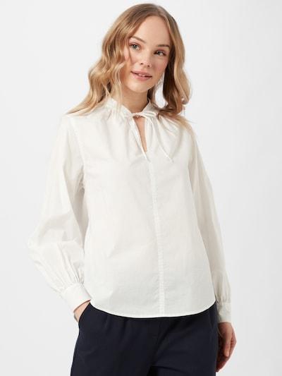 OPUS Bluse 'Fraube' in weiß, Modelansicht