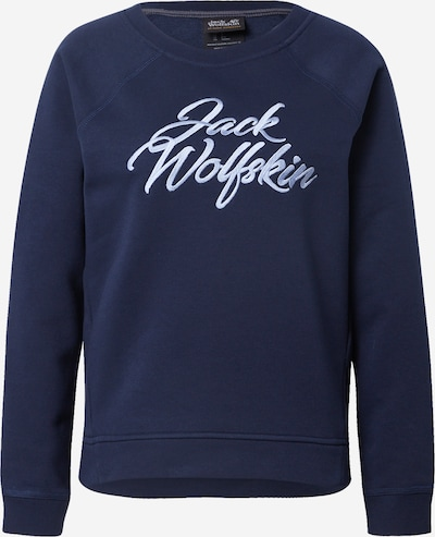 JACK WOLFSKIN Sports sweatshirt in light blue / dark blue, Item view