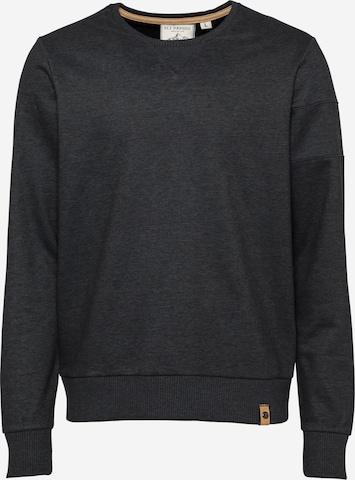 Fli Papigu Sweatshirt 'Huffin' & Puffin' in Grau