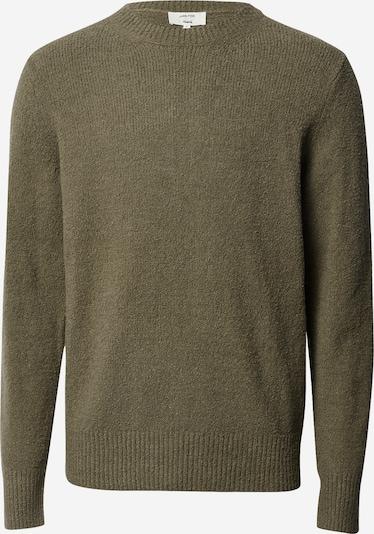 DAN FOX APPAREL Pullover 'Laurenz' in khaki, Produktansicht
