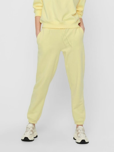 ONLY Pantalon en jaune, Vue avec modèle