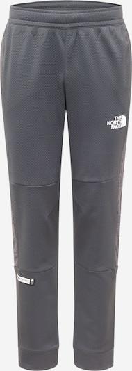 THE NORTH FACE Sporthose in anthrazit / weiß, Produktansicht