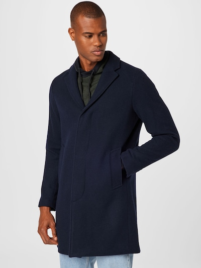 SELECTED HOMME Mantel 'HAGEN' in dunkelblau, Modelansicht