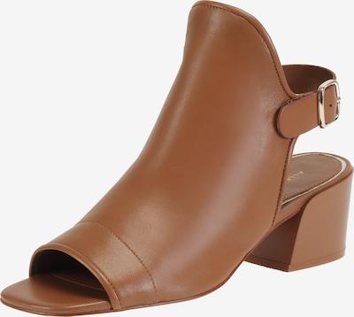 Ekonika Sandale in braun, Produktansicht