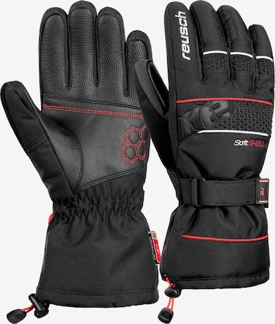 REUSCH Fingerhandschuhe 'Connor R-TEX® XT' in rot / schwarz, Produktansicht
