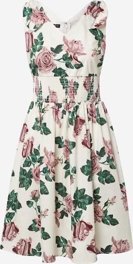 APART Sommerkleid in creme / dunkelgrün / rosé, Produktansicht