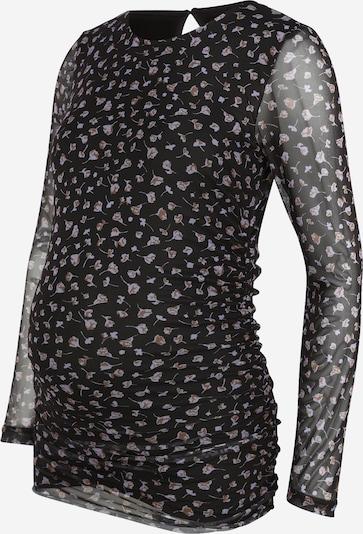 MAMALICIOUS Bluza | rjava / siva / črna barva, Prikaz izdelka
