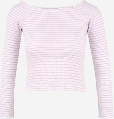Pieces Petite Shirts 'ALICIA' i lilla / hvid, Produktvisning