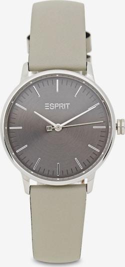 ESPRIT Uhr in grau / schwarz / silber, Produktansicht
