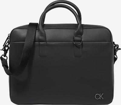 Geantă laptop Calvin Klein pe negru, Vizualizare produs