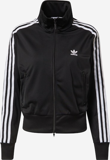 ADIDAS ORIGINALS Between-season jacket 'Firebird' in black / white, Item view