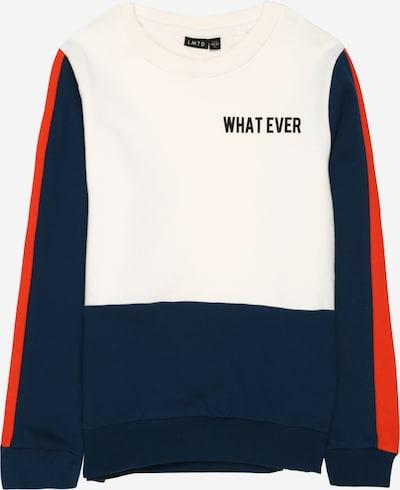 LMTD Sweatshirt in dunkelblau / weiß, Produktansicht