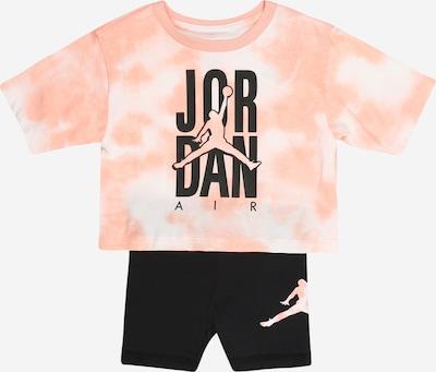 Jordan Joggingpak in de kleur Zalm roze / Zwart / Wit, Productweergave