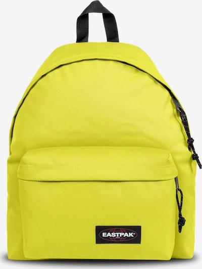 EASTPAK Nahrbtnik 'PADDED PAK'R' | neonsko rumena / rdeča / črna / bela barva, Prikaz izdelka
