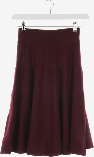 Incentive! Cashmere Skirt in XS in Wine red, Item view