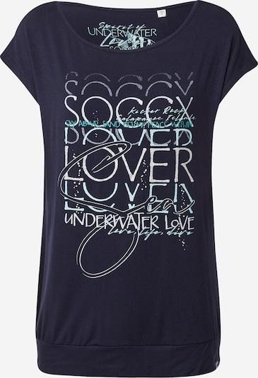 Soccx Camiseta en azul / mezcla de colores, Vista del producto