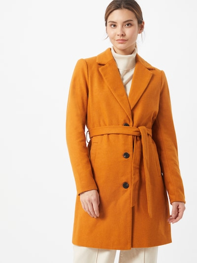 VILA Between-seasons coat 'Joselin' in orange, View model