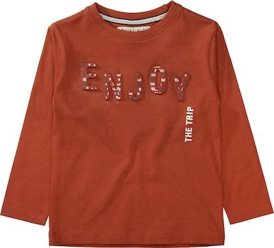 BASEFIELD Langarmshirt für Jungen in dunkelorange, Produktansicht