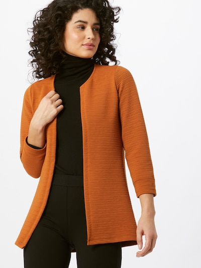 ONLY Knit cardigan 'Leco' in Cognac, View model