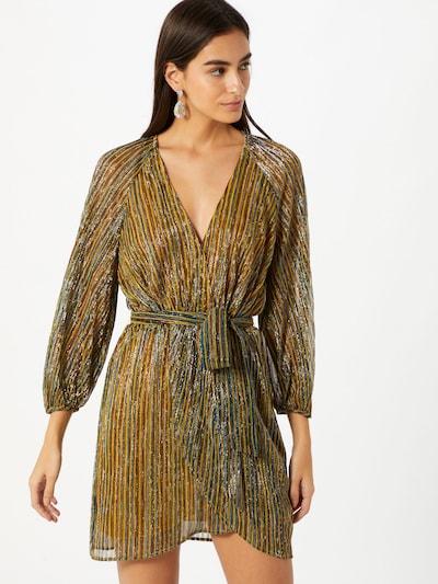 Traffic People Kleid 'Tess' in goldgelb / gold / mischfarben, Modelansicht