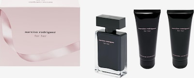 narciso rodriguez Duft-Set 'For Her' in schwarz: Frontalansicht