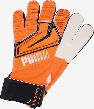 PUMA Torwarthandschuh 'Ultra Grip 3' in orange / schwarz / weiß, Produktansicht