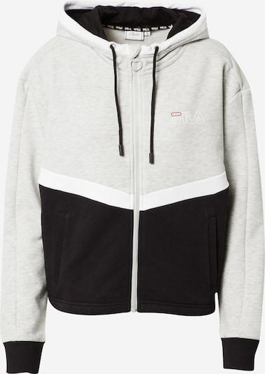 Sportinis džemperis 'Laguna' iš FILA , spalva - margai pilka / juoda / balta, Prekių apžvalga