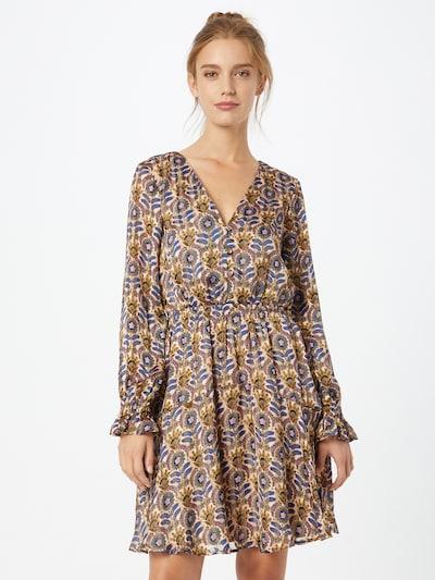 SCOTCH & SODA Kleid in ecru / mischfarben, Modelansicht