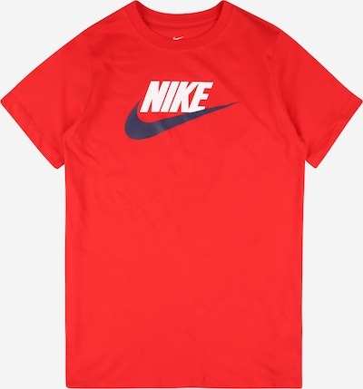 Nike Sportswear Shirt 'FUTURA' in navy / rot / weiß, Produktansicht