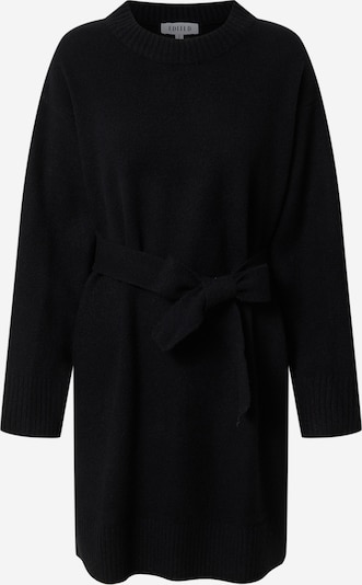 EDITED Knitted dress 'Mariana' in Black, Item view