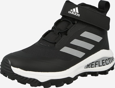 ADIDAS PERFORMANCE Sporta apavi 'FortaRun', krāsa - gaiši pelēks / melns, Preces skats