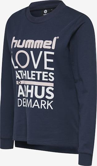 Hummel Sportief sweatshirt in de kleur Blauw / Rosa / Wit, Productweergave