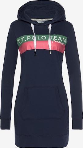 Tom Tailor Polo Team Sweatshirt in Blue