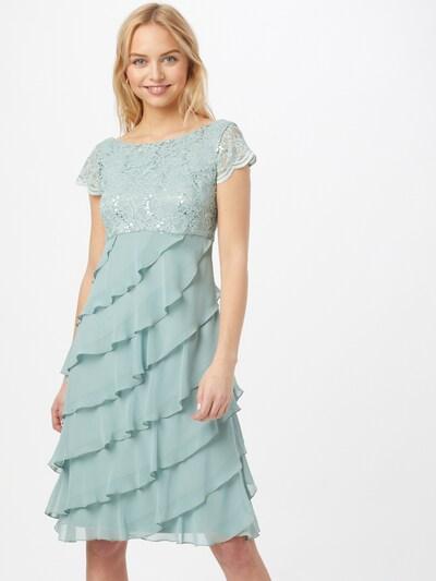SWING Cocktailjurk in de kleur Pastelgroen, Modelweergave