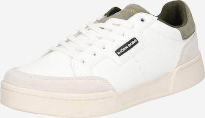 BJÖRN BORG Sneaker in dunkelgrün / weiß, Produktansicht