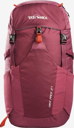 TATONKA Sac à dos 'Hike Pack 27 ' en rouge / bordeaux / noir, Vue avec produit