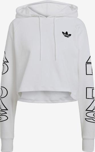 ADIDAS ORIGINALS Sweatshirt in Black / White, Item view